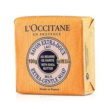 L'Occitane Shea Butter Extra Gentle Soap - Milk  100g/3.5oz
