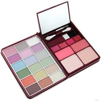 Cameleon MakeUp Kit G0139 (18x Eyeshadow, 2x Blusher, 2x Pressed Powder, 4x Lipgloss) - 1