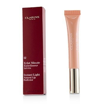 Clarins Eclat Minute Instant Light Natural Lip Perfector - # 02 Apricot Shimmer  12ml/0.35oz