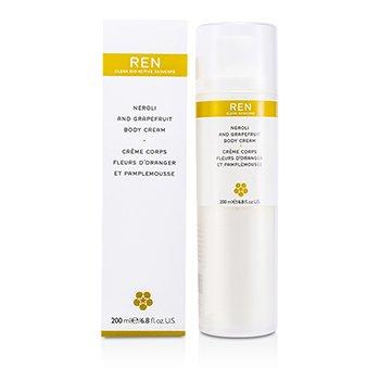 Ren Neroli & Grapefruit Body Cream  200ml/6.8oz