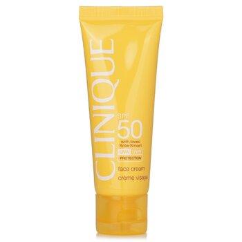 Clinique Sun SPF 50 Face Cream UVA/UVB  50ml/1.7oz