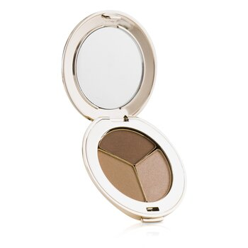 Jane Iredale PurePressed Triple Eye Shadow - Triple Cognac  2.8g/0.1oz
