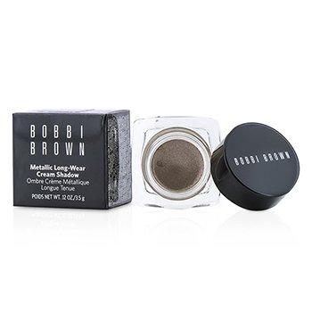 Bobbi Brown Metallic Long Wear Cream Shadow - # 04 Brown Metal  3.5g/0.12oz