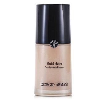 Giorgio Armani Fluid Sheer - # 7 Pale Shimmering Rose  30ml/1oz