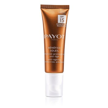 Payot Benefice Soleil Anti-Aging Protective Emulsion SPF 15 UVA/UVB  50ml/1.6oz