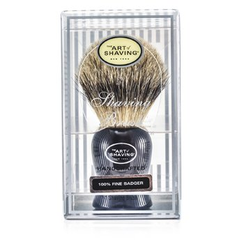 The Art Of Shaving Fine Badger Shaving Brush - Black  1pc