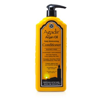 Agadir Argan Oil Daily Moisturizing Conditioner (For All Hair Types)  1000ml/33.8oz