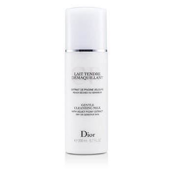 Christian Dior Gentle Cleansing Milk - For Dry/ Sensitive Skin  200ml/6.7oz