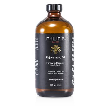 Philip B Rejuvenating Oil (For Dry to Damaged Hair & Scalp)  480ml/16oz