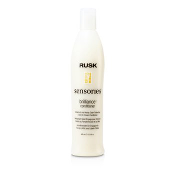 Rusk Sensories Brilliance Grapefruit and Honey Color Protecting Leave-In Cream Conditioner  400ml/13.5oz