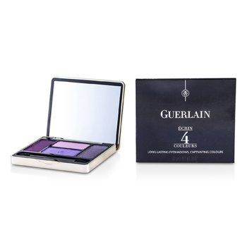Guerlain Ecrin 4 Couleurs Long Lasting Eyeshadow - #01 Les Violets  7.2g/0.25oz