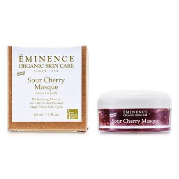 Eminence Sour Cherry Masque - For Oily to Normal & Large Pored Skin  60ml/2oz