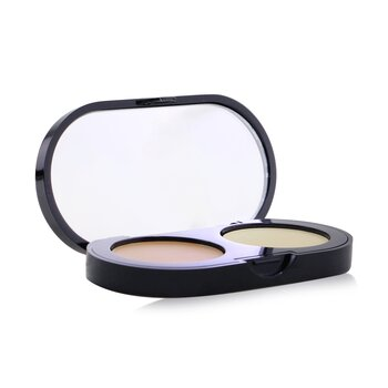 Bobbi Brown New Creamy Concealer Kit - Natural Creamy Concealer + Pale Yellow Sheer Finish Pressed Powder  3.1g/0.11oz