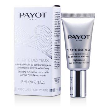 Payot Absolute Pure White Clarte Des Yeux Lightening Eye Contour Cream  15ml/0.5oz