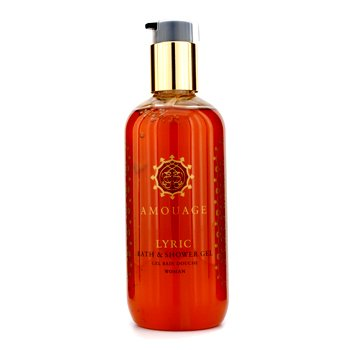 Amouage Lyric Bath & Shower Gel  300ml/10oz