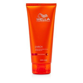 Wella Enrich Moisturizing Conditioner For Dry & Damaged Hair (Fine/Normal)  200ml/6.7oz