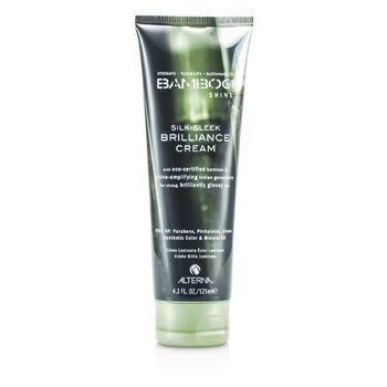 Alterna Bamboo Shine Silk-Sleek Brilliance Cream (For Strong, Brilliantly Glossy Hair)  125ml/4.2oz