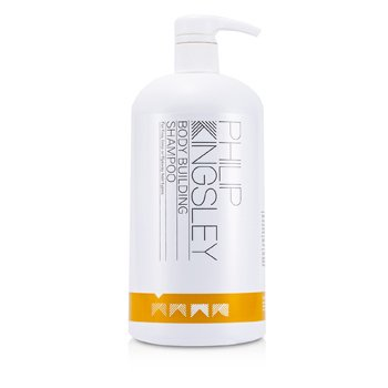 Philip Kingsley Body Building Shampoo (For Fine, Limp or Flyaway Hair Types)  1000ml/33.8oz