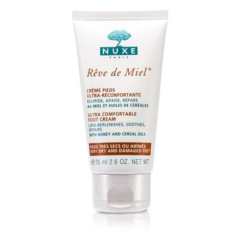 Nuxe Reve De Miel Ultra Comfortable Foot Cream (Very Dry & Damaged Feet)  75ml/2.6oz