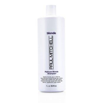 Paul Mitchell Blonde Platinum Blonde Shampoo (Brighten Blonde, Gray or White Hair)  1000ml/33.8oz