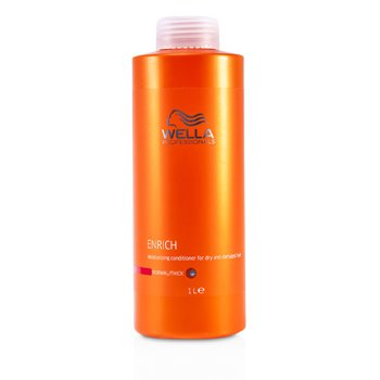 Wella Enrich Moisturizing Conditioner For Dry & Damaged Hair (Normal/Thick)  1000ml/33.8oz