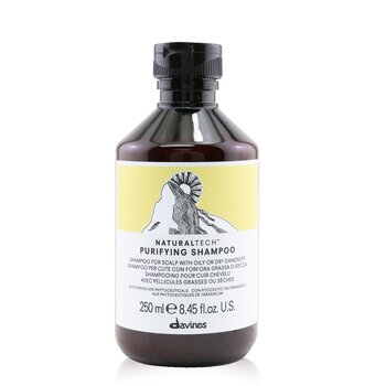 Davines Natural Tech Purifying Shampoo (For Scalp with Oily or Dry Dandruff)  250ml/8.45oz