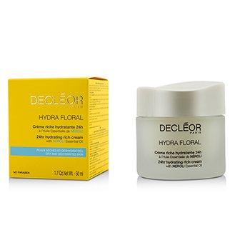 Decleor Hydra Floral 24hr Hydrating Rich Cream  50ml/1.69oz