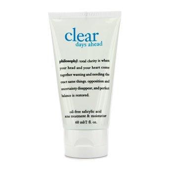 Philosophy Clear Days Ahead Oil-Free Salicylic Acid Acne Treatment & Moisturizer  60ml/2oz