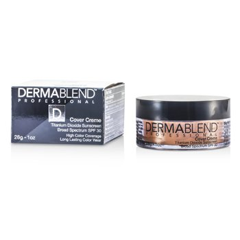 Dermablend Cover Creme Broad Spectrum SPF 30 (High Color Coverage) - Warm Beige  28g/1oz