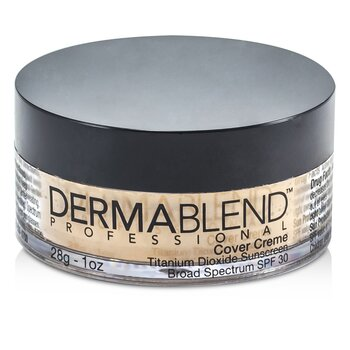 Dermablend Cover Creme Broad Spectrum SPF 30 (High Color Coverage) - Caramel Beige  28g/1oz