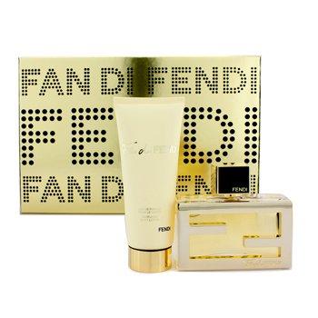 Fendi Fan Di Fendi Coffret: Eau De Parfum Spray 50ml/1.7oz + Body Lotion 75ml/2.5oz  2pcs