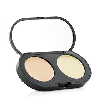 Bobbi Brown New Creamy Concealer Kit - Warm Ivory Creamy Concealer + Pale Yellow Sheer Finish Pressed Powder  3.1g/0.11oz