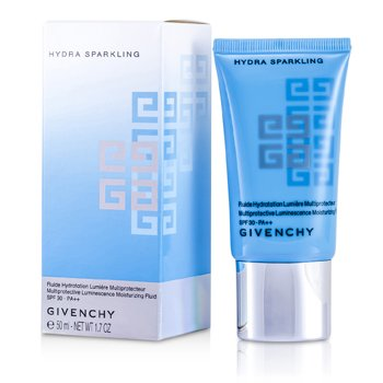 Givenchy Hydra Sparkling Multiprotective Luminescence Moisturizing Fluid SPF 30 PA++ (All Skintypes)  50ml/1.7oz