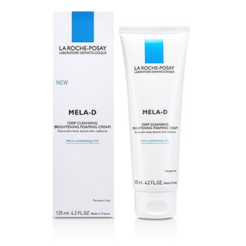 La Roche Posay New Mela-D Deep Cleansing Brightening Foaming Cream  125ml/4.2oz