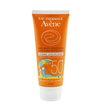 Avene Very High Protection Lotion SPF 50+ - For Sensitive Skin of Children  100ml/3.3oz