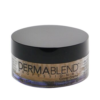 Dermablend Cover Creme Broad Spectrum SPF 30 (High Color Coverage) - Cafe Brown  28g/1oz