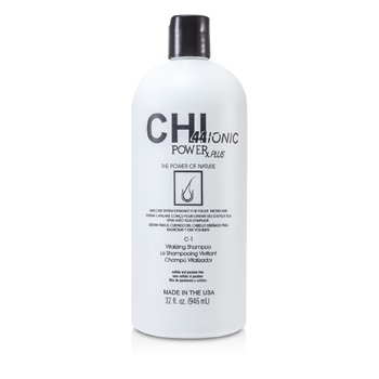 CHI CHI44 Ionic Power Plus C-1 Vitalizing Shampoo (For Fuller, Thicker Hair)  946ml/32oz