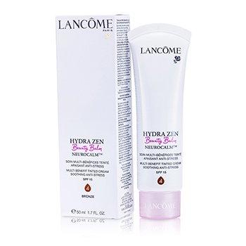 Lancome Hydra Zen Neurocalm (Beauty Balm) Multi Benefit Soothing Anti-Stress Tinted Cream SPF 15 - # 4 Bronze  50ml/1.7oz