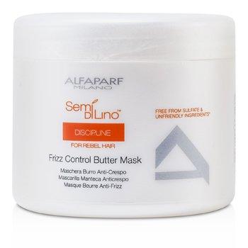 AlfaParf Semi Di Lino Discipline Frizz Control Butter Mask (For Rebel Hair)  500ml/17.28oz