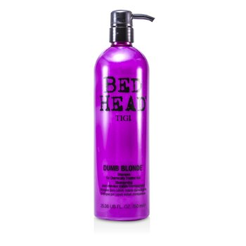 Tigi Bed Head Dumb Blonde Shampoo (For Chemically Treated Hair)  750ml/25.36oz