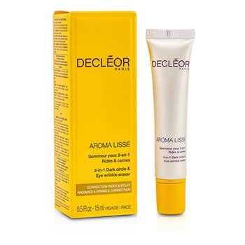 Decleor Aroma Lisse 2-in-1 Dark Circle & Eye Wrinkle Eraser  15ml/0.5oz