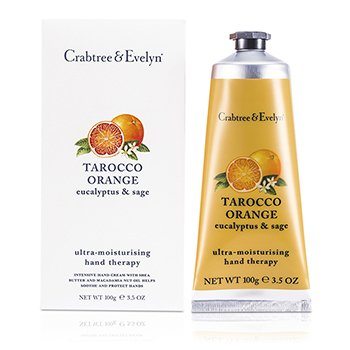 Crabtree & Evelyn Tarocco Orange, Eucalyptus & Sage Ultra-Moisturising Hand Therapy  100g/3.5oz