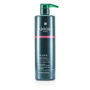Rene Furterer Okara Protect Color Color Radiance Ritual Radiance Enhancing Shampoo - Color-Treated Hair (Salon Product)  600ml/20.2oz