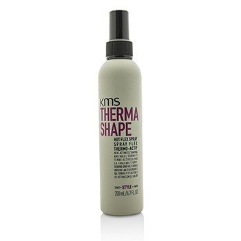 KMS California Therma Shape Hot Flex Spray (Heat-Activated Shaping and Hold)  200ml/6.7oz