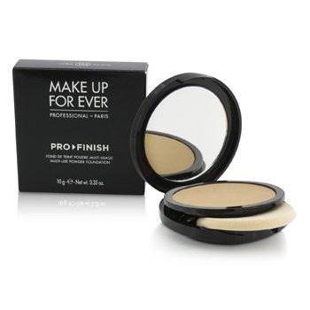 Make Up For Ever Pro Finish Multi Use Powder Foundation - # 155 Pink Honey  10g/0.35oz