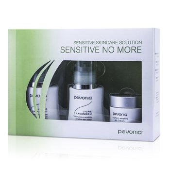 Pevonia Botanica Sensitive Skincare Solution Sensitive No More: Cleanser 50ml/1.7oz+Lotion 50ml/1.7oz+Cream 20ml/0.7oz  3pcs