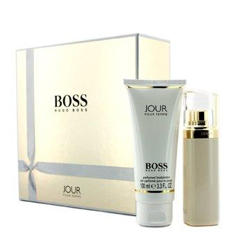 Hugo Boss Boss Jour Coffret: Eau De Parfum Spray 50ml/1.6oz + Body Lotion 100ml/3.3oz  2pcs