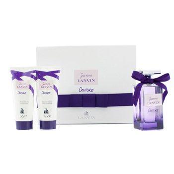 Lanvin Jeanne Lanvin Couture Coffret: Eau De Parfum Spray 100ml/3.4oz + Body Lotion 100ml/3.3oz + Shower Gel 100ml/3.3oz  3pcs