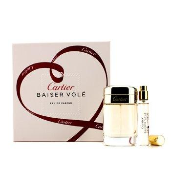 Cartier Baiser Vole Coffret: Eau De Parfum Spray 50ml/1.6oz + Eau De Parfum Spray 9ml/0.3oz  2pcs