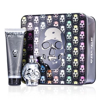 Police To Be The Illusionist Coffret: Eau De Toilette Spray 75ml/2.5oz + All Over Body Shampoo 100ml/3.4oz  2pcs
